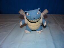 "Vintage Nintendo Pokemon Blastoise Plush Stuffed Animal Toy 1999 8"""