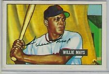 1951 Willie Mays Bowman #305 RP Autographed Signed RC PSA DNA RARE