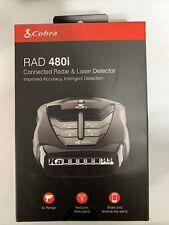 Cobra Rad 480i Radar Detector - Black (0180009-1)