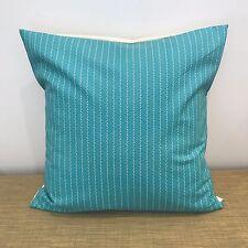 "18"" (45cm) PINSTRIPE BLUE, BROWN, PINK Cushion Cover Pillow Case. Made Australia"