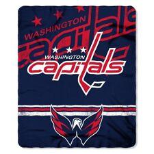 "Washington Capitals Northwest 50""x60"" Fade Away Fleece Throw Blanket FREE"