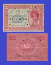 Czech. 5000 KORUN 1919 UNC - Reproduction