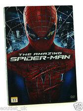 The Amazing Spiderman DVD Region 2 NEW SEALED Spider-Man