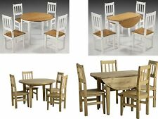 60cm-80cm Height Kitchen & Dining Tables with Drop Leaf