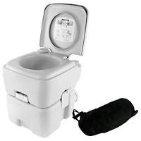 Serene-Life SLCATL120 Portable Toilet - Outdoor & Travel Toilet, 5.3 Gal.