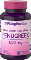 FENUGREEK 100 Capsules 1220mg PURITAN PRIDE