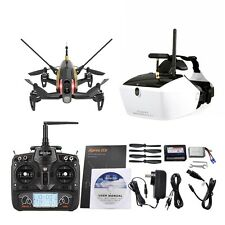 Walkera Rodeo150 RC Drone 5.8G FPV Goggle 4 Glasses DEVO 7 600TVL Cams Black