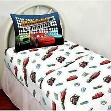 NEW Disney Pixar Cars Kids Boy's Bed Sheet Set, Twin