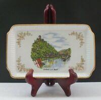 TJK Kunstpalette Regnitzlosau Porzellan Sammlerteller Cochem an der Mosel 20 cm