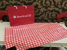 American girl Felicity Replacement bedding canopy 2 side panels Curtain bed