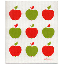 NEW Apples Red and Green Design Eco Friendly Kitchen Dishcloth