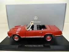 1:18 NOREV Mercedes 280 SL Pagode red rot NEU NEW