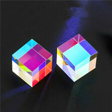 1PC Defective Big X-Cube Prism Teaching Tools DIY Decoration Science Education