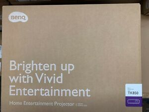 BenQ TK850 4K HDR-PRO DLP Projector 3000 Lumens NEW IN BOX - FREE SHIPPING USA