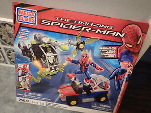 New Mega Bloks Spider-man 91346 Bridge Showdown w/ Lizard Minifig & Spider-man
