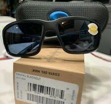 """Costa Del Mar Tf /01/ Ogp / 2287527cm Fantail"""" Gris Lentes/Sunglasses-Blackout"""
