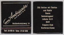 Vintage (Pre-1970) Matchboxes/Matchbooks Supplies