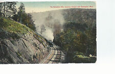 Train  Berkshire Hills between Chester and Huntington MA  Unused  Postcard 754
