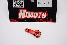 02372R Soporte de montaje SERVO aluminio Rojo HIMOTO 1/10-1/8-1/16/SERVO BRAZO