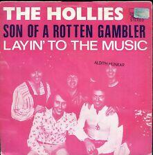 7inch THE HOLLIES son of a rotten gambler BELGIUM 1974 EX SOC