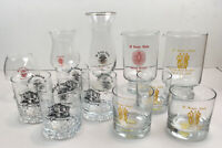 Pi Kappa Alpha Fraternity Formal Drink Glasses/Crystal, Pitt State Univ, '87-'90