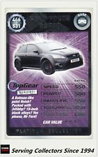 TOPGEAR PLATINUM COLLECTION RARE CARD #466 FORD FOCUS RS500