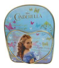 Disney Cinderella Corazón Bolsillo Mochila Escolar Chicas Azul Comida para libro