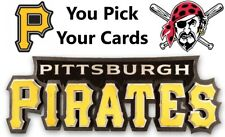 You Pick Your Cards - Pittsburgh Pirates Team - Baseball Card Selection