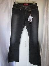 Levi's 520 Too Superlow Stretch NWOT Jeans Off Black Sz 1 Jrs. (PC-37)