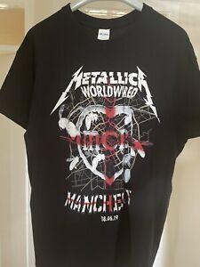 metallica tour t shirt Large