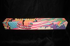 """Vintage 1960's Rare Psychedelic Beat The Draft Game """"Peter Max"""" FACTORY SEALED"""