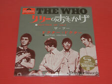 2017 THE WHO PICTURE OF LILY 7INCH EP SIZE SPECIAL SLEEVE JAPAN 2 TRACKS SHM CD