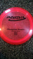 Innova Champion Groove OOP Stamp Pinkish red 167 gram golf disc