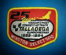 1994 NASCAR Talladega 500 Hat Jacket Racing Gear Patch Crests Dale Earnhardt