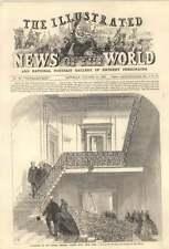 1858 Escalier de l'ambassade de France Albert Gate Hyde Park