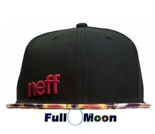 New Neff Daily Black Snapback Hat Cap