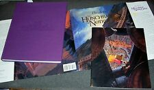 "SIGNED Art of the Hunchback of Notre Dame 13.5""x11"" Disney & Premiere Program"