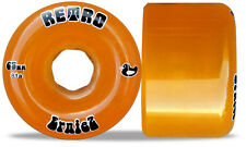 RETRO ERNIEZ 65MM 81A ORANGE LONGBOARD WHEELS skateboard wheels