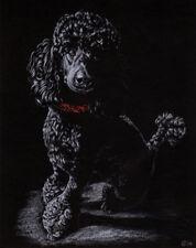 "8""x10"" PET PORTRAIT COMMISSION custom painting Sandrine Curtiss Original Art"