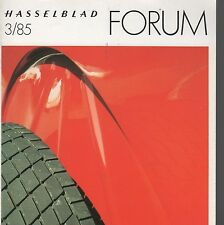 Forum Magazine Hasselblad 3/85 October 1985 Volume 21