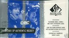 2000-01 Upper Deck Sp Authentic Hockey Box
