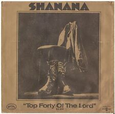 SHANANA--PICTURE SLEEVE ONLY--(TOP FORTY OF T5HE LORD)--PS--PIC--SLV