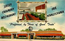 ERIE PA JERSEY CREAMERY ICE CREAM SHOP AND RESTAURANT USED 1955