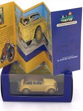 Collection En Voiture Tintin - N19 boîte + certificat / Editions Atlas