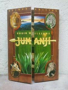 Jumanji DVD - RARE SLIPCOVER - Region 4 Australian Release