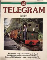 G-scale Train Garden Railway: LGB TELEGRAM 2002 Summer - Talyllyn - Peter Urban