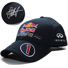NEW SEBASTIAN VETTEL SEB SIGNED F1 FORMULA 1 ONE TEAM RB BASEBALL HAT RACING CAP