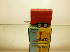 CORGI TOYS 102 RICE'S PONY TRAILER  - RED 1:43 GOOD CONDITION - IN BOX