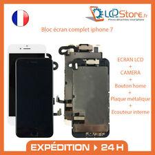 Bloc écran complet Iphone 7 Vitre tactile + LCD + Caméra frontale + bouton home