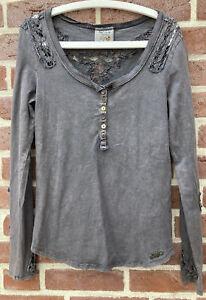 Hübsches Sweatshirt Khujo Gr. L -Damen-